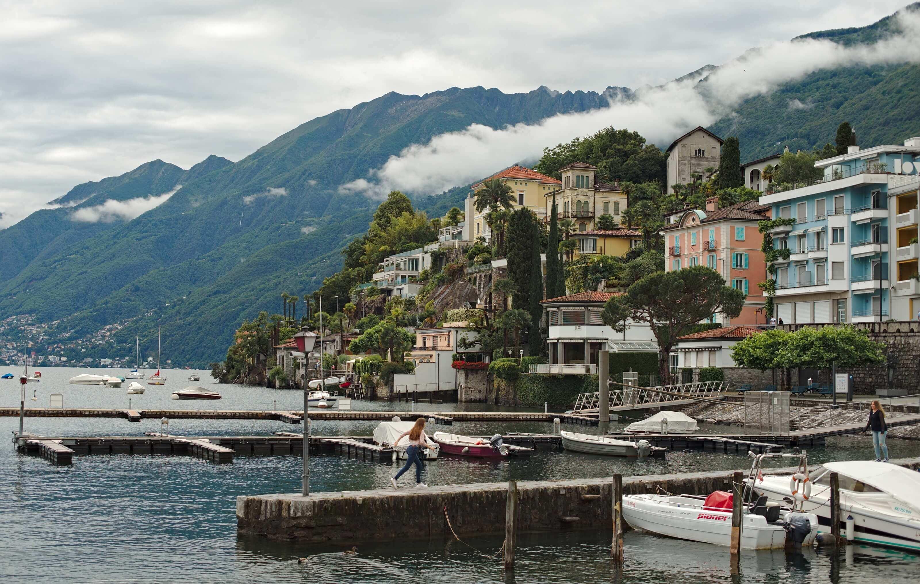le port d'ascona