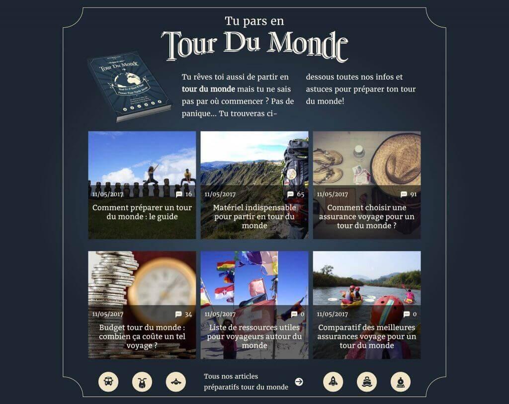 home page novo-monde tour du monde