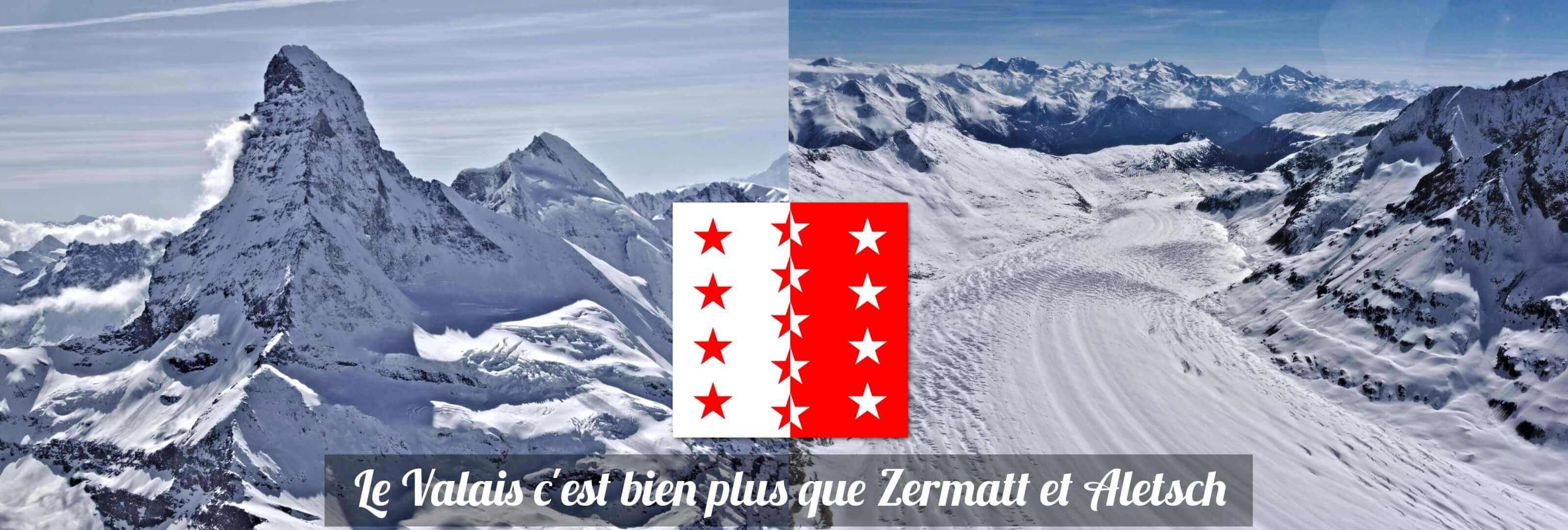 valais à voir zermatt aletsch