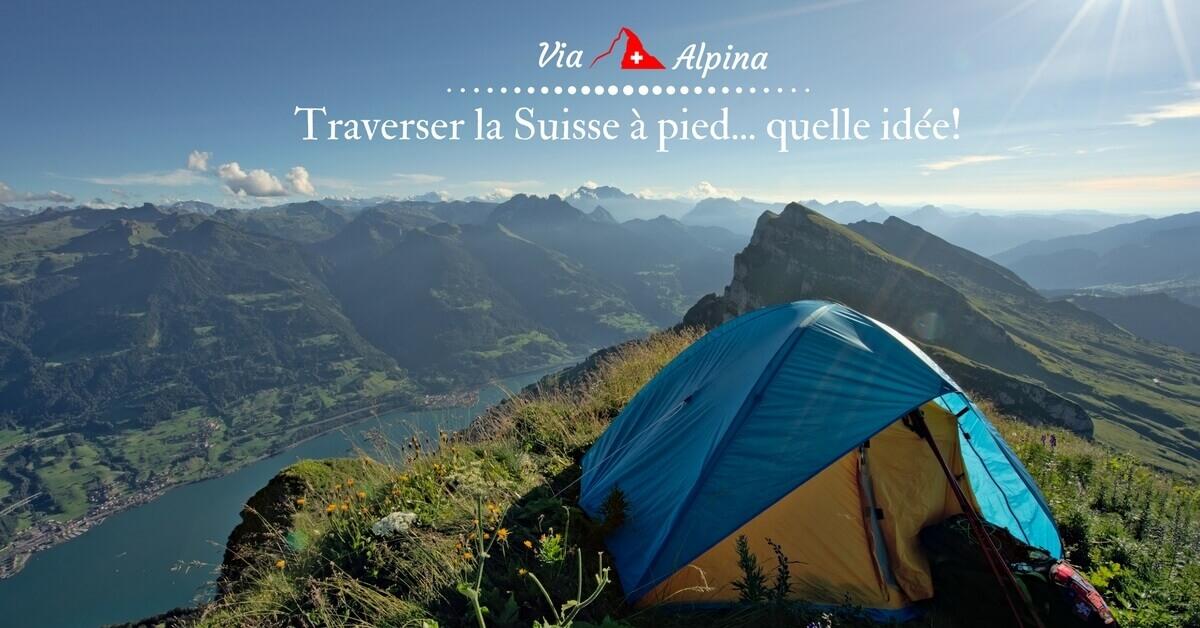 pourquoi faire la via alpina