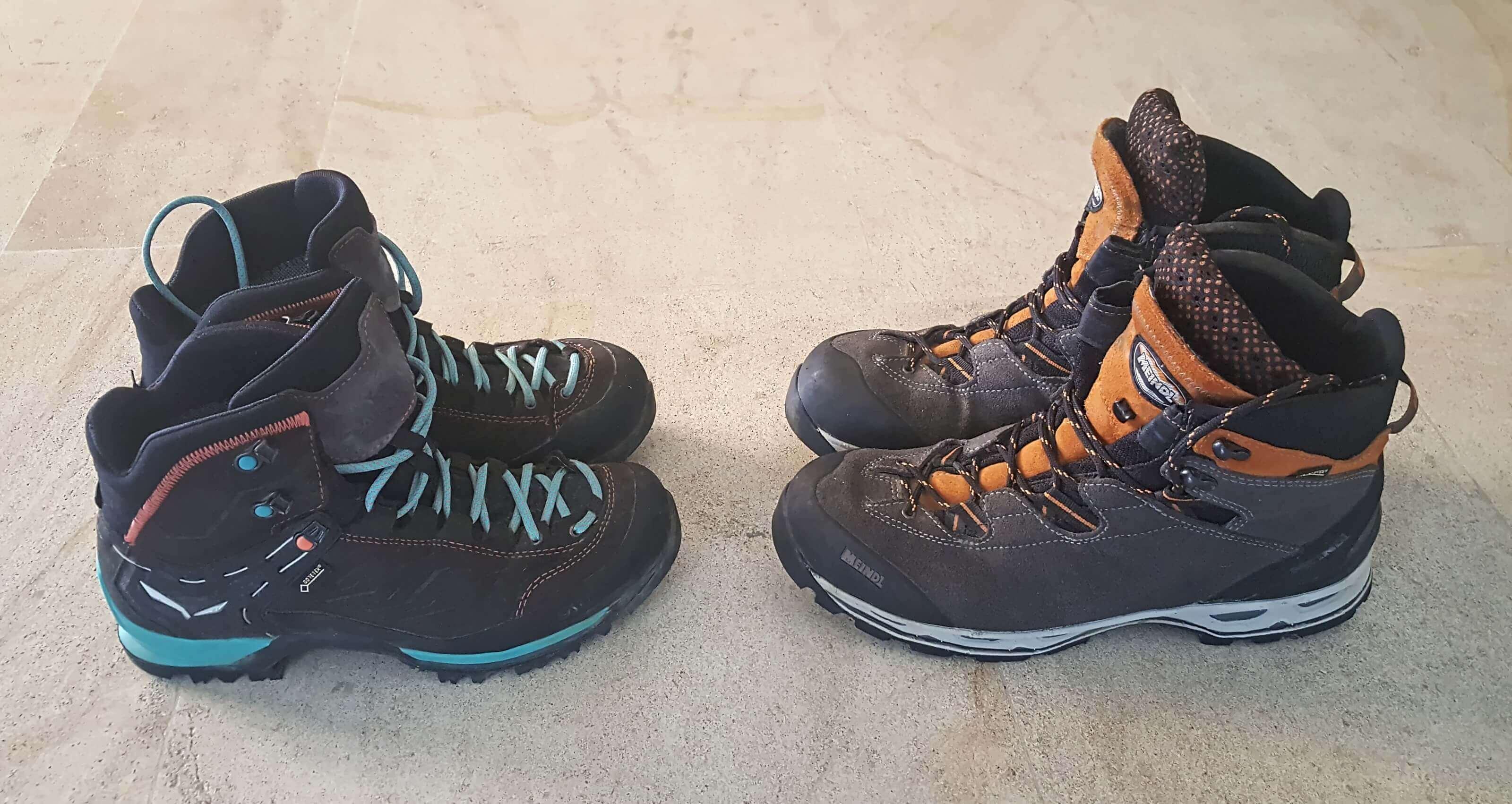 chaussures de rando via alpina