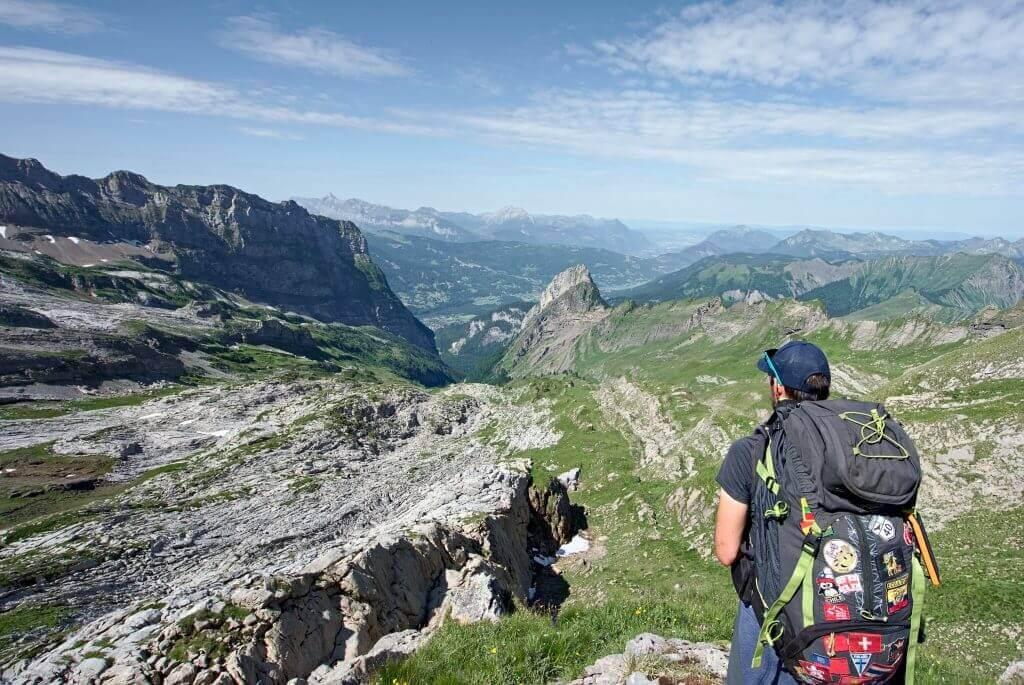 matériel de randonnée via alpina