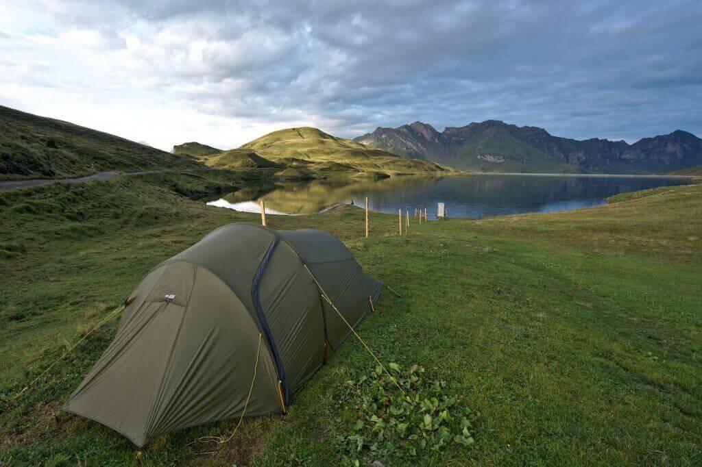tente lac de Tannen