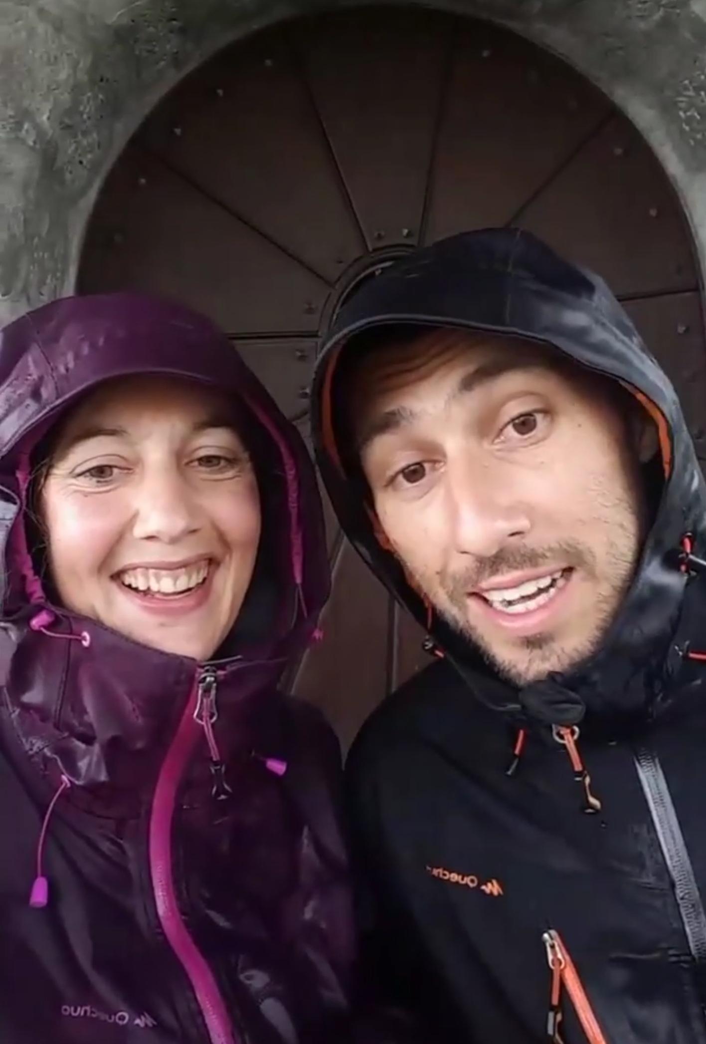 via-alpina sous la pluie