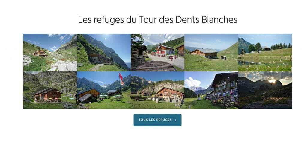 menu des refuges