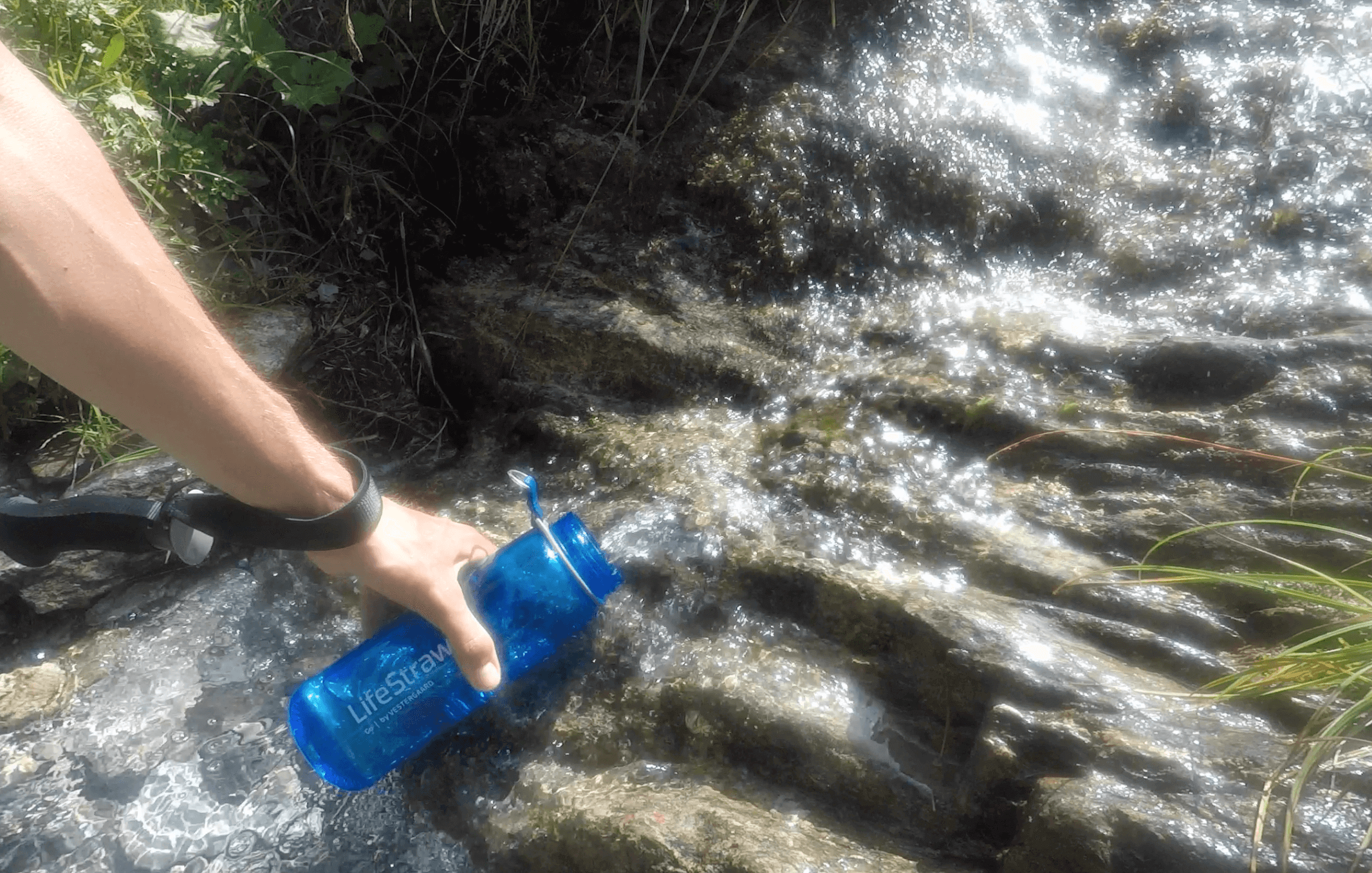 Lifestraw en randonnée