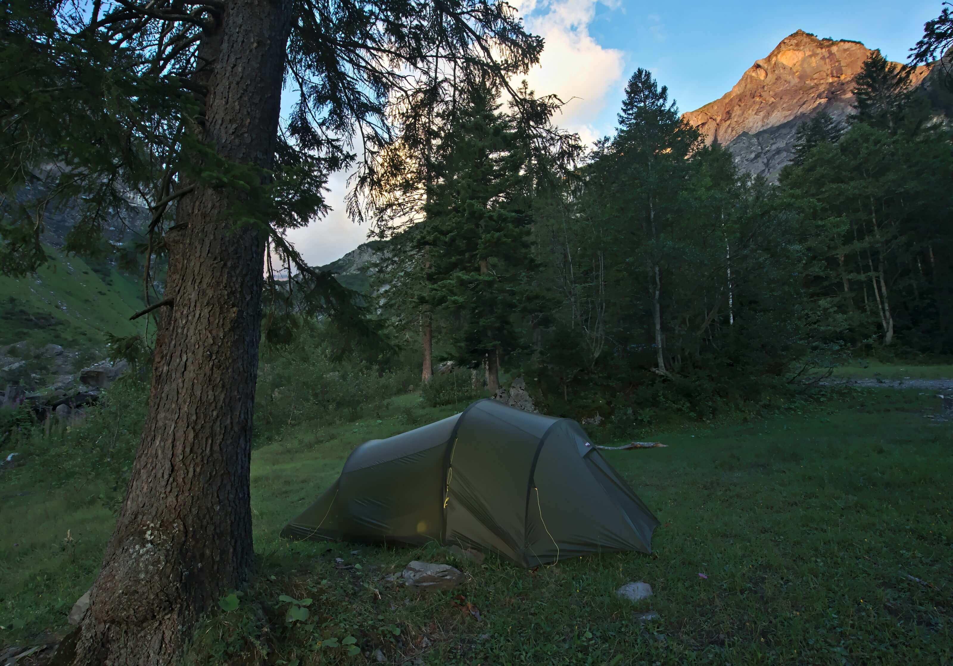 bivouac via alpina weisstannen