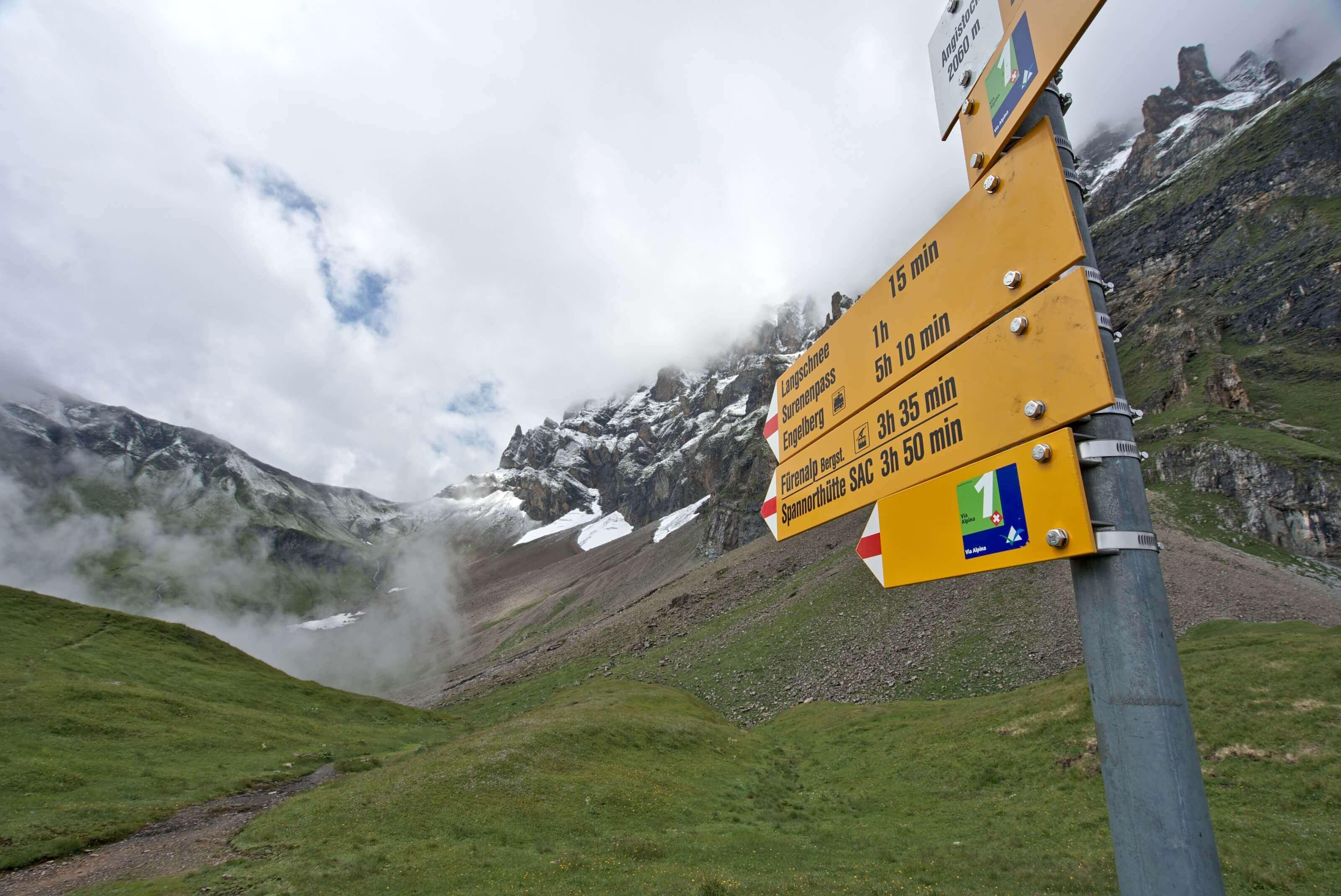 via Alpina, route numéro 1