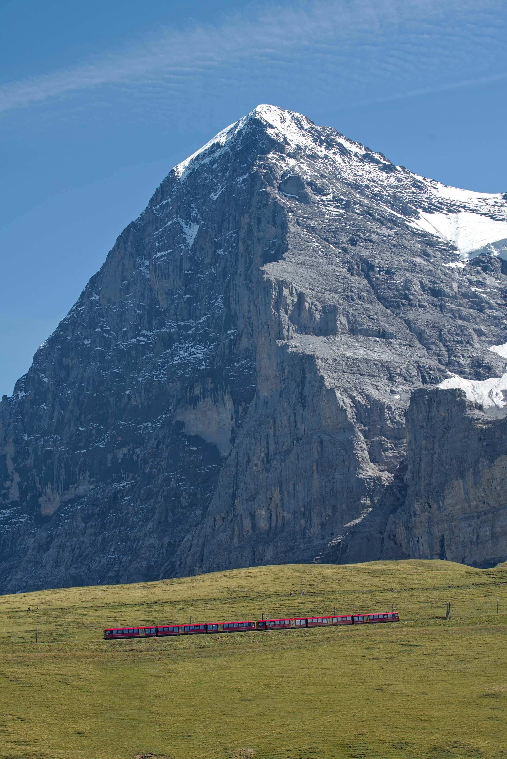 train pour la Junfrau, suisse