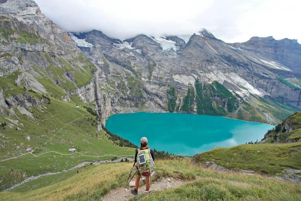 lac d'oeschinen, kandersteg