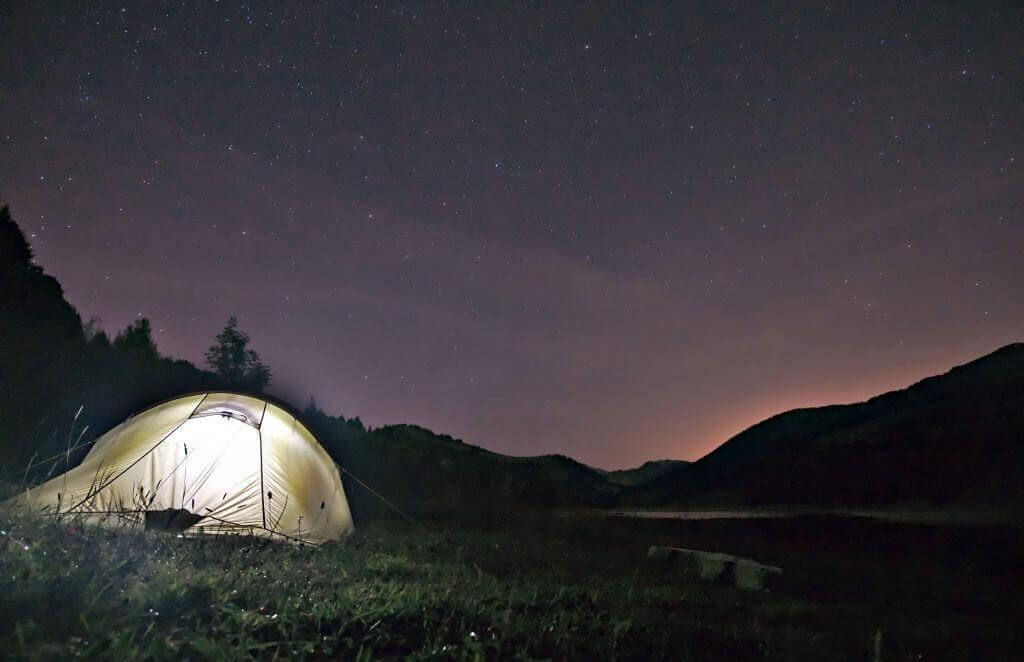 bivouac lac d'Hongrin