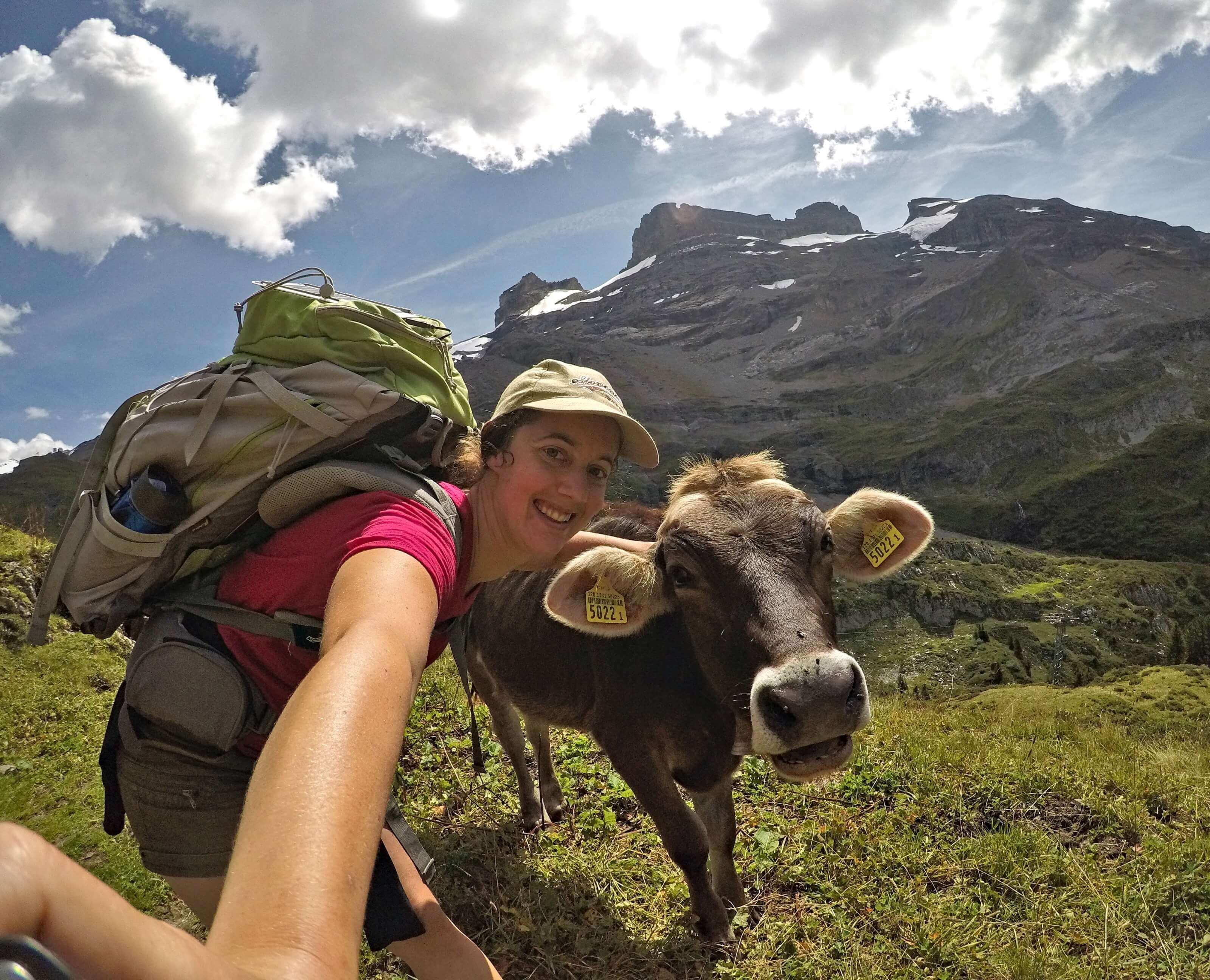 via alpina, selfie