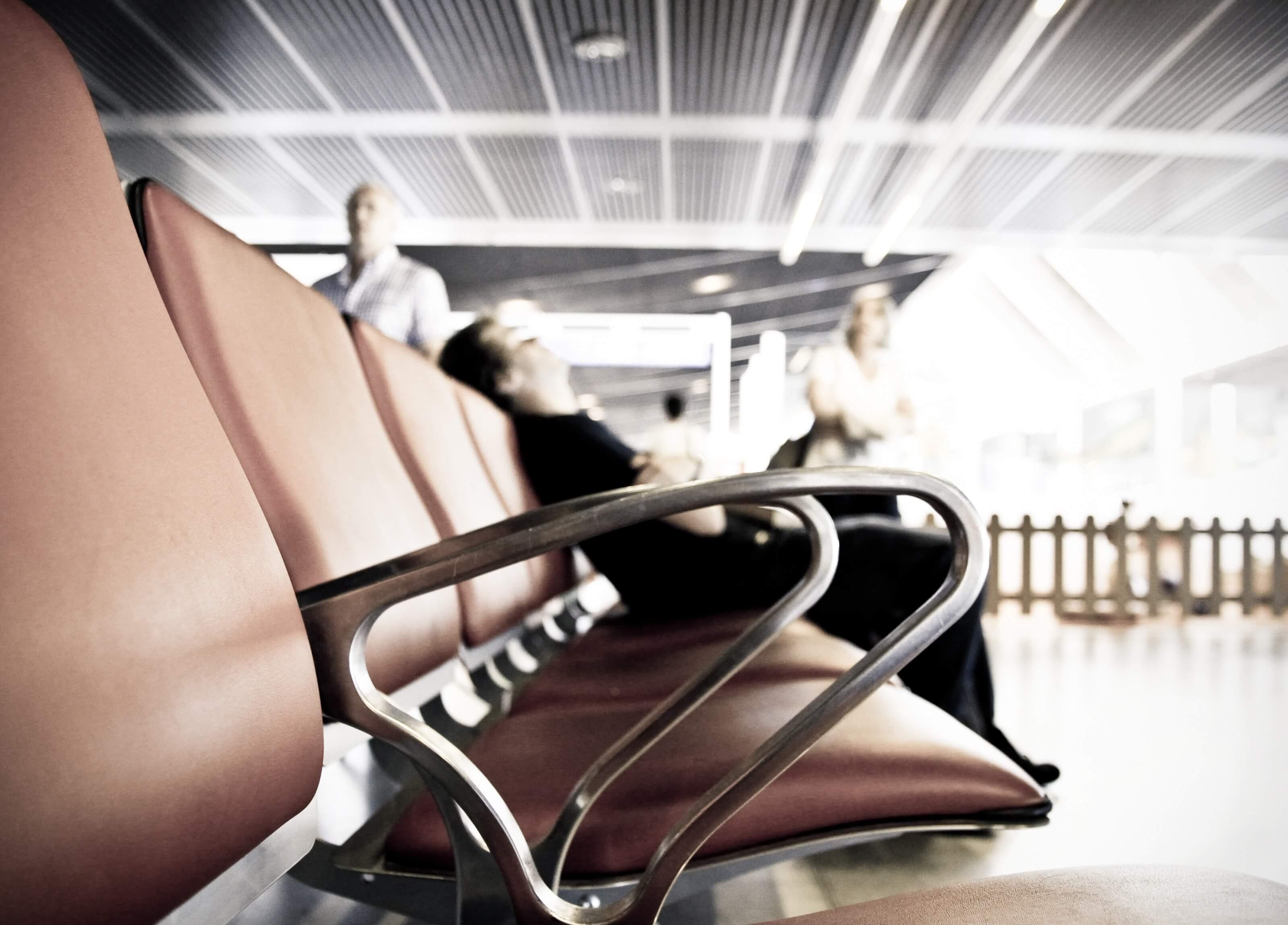 sièges d'aéroport