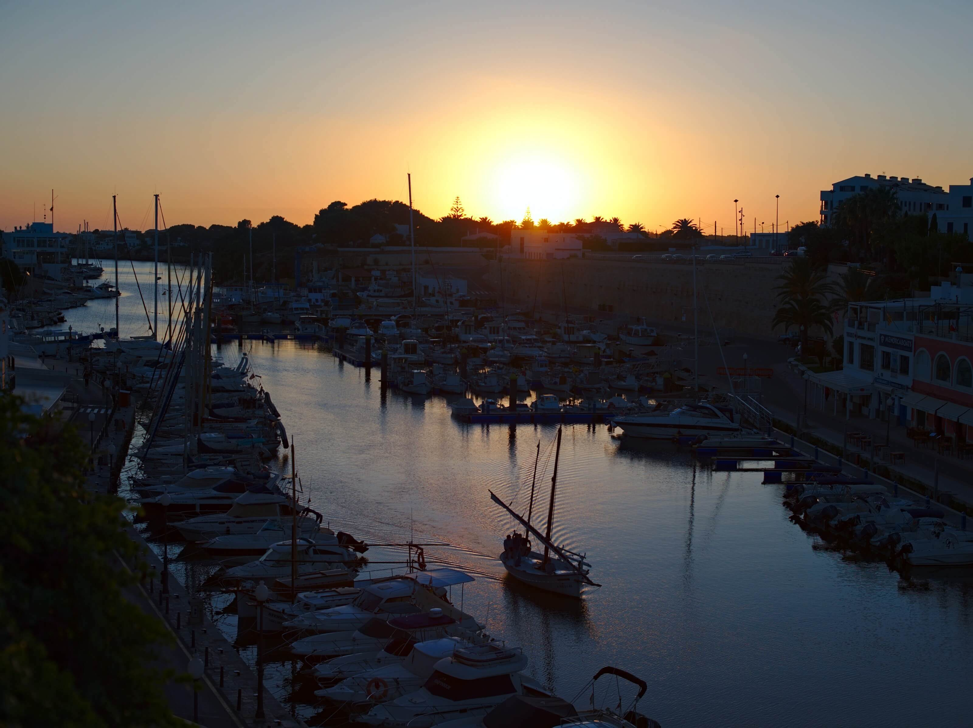 coucher de soleil ciutadella