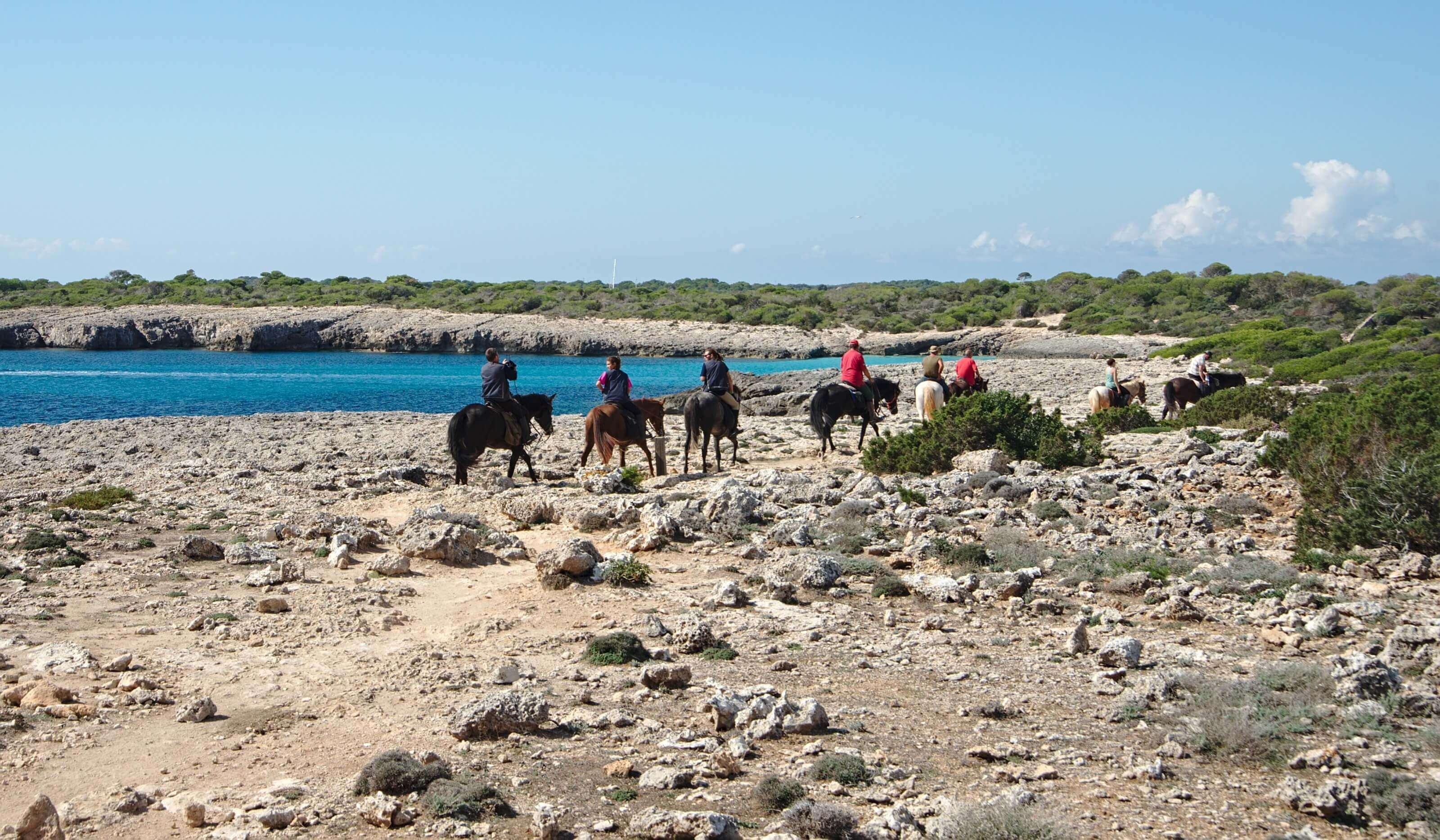 cheval à Minorque
