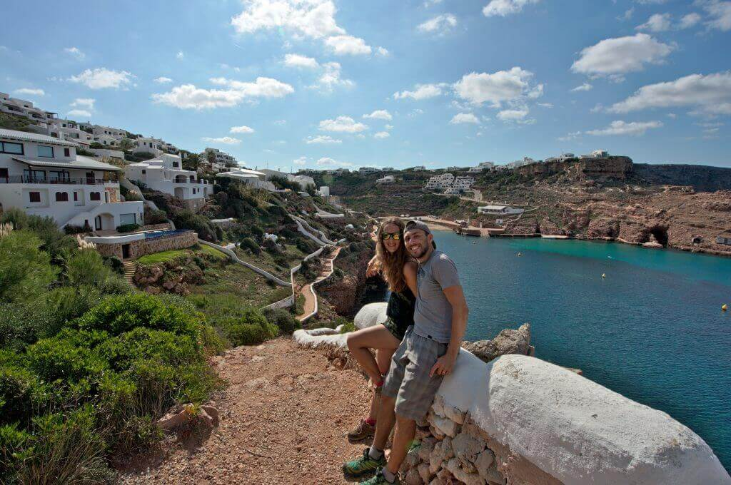 cala morell - photo souvenir