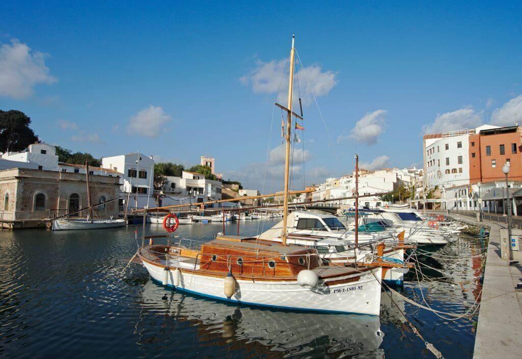 port de ciutadella, minorque