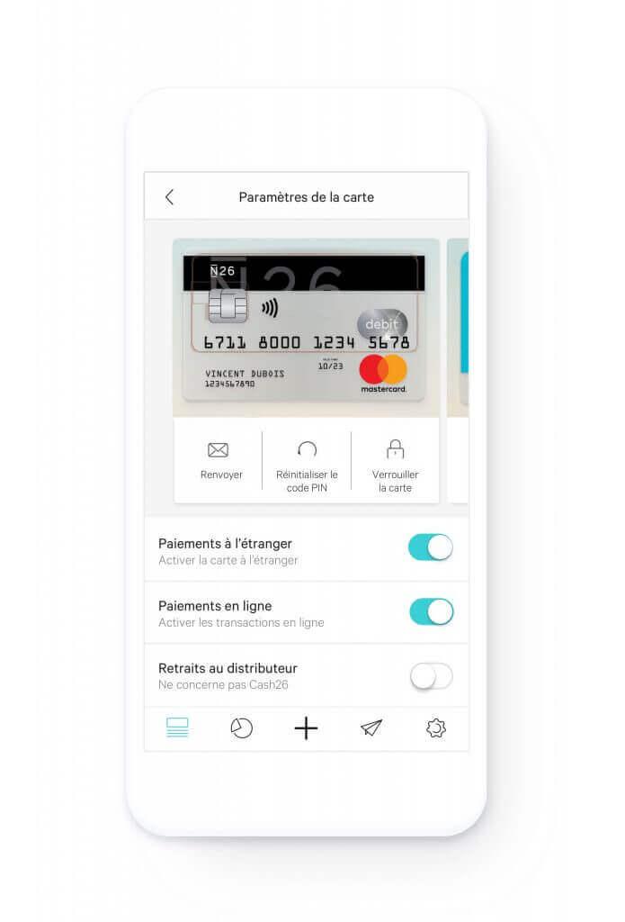 N26 application mobile