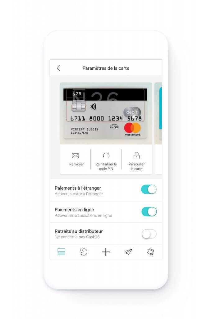 N26 application mobile