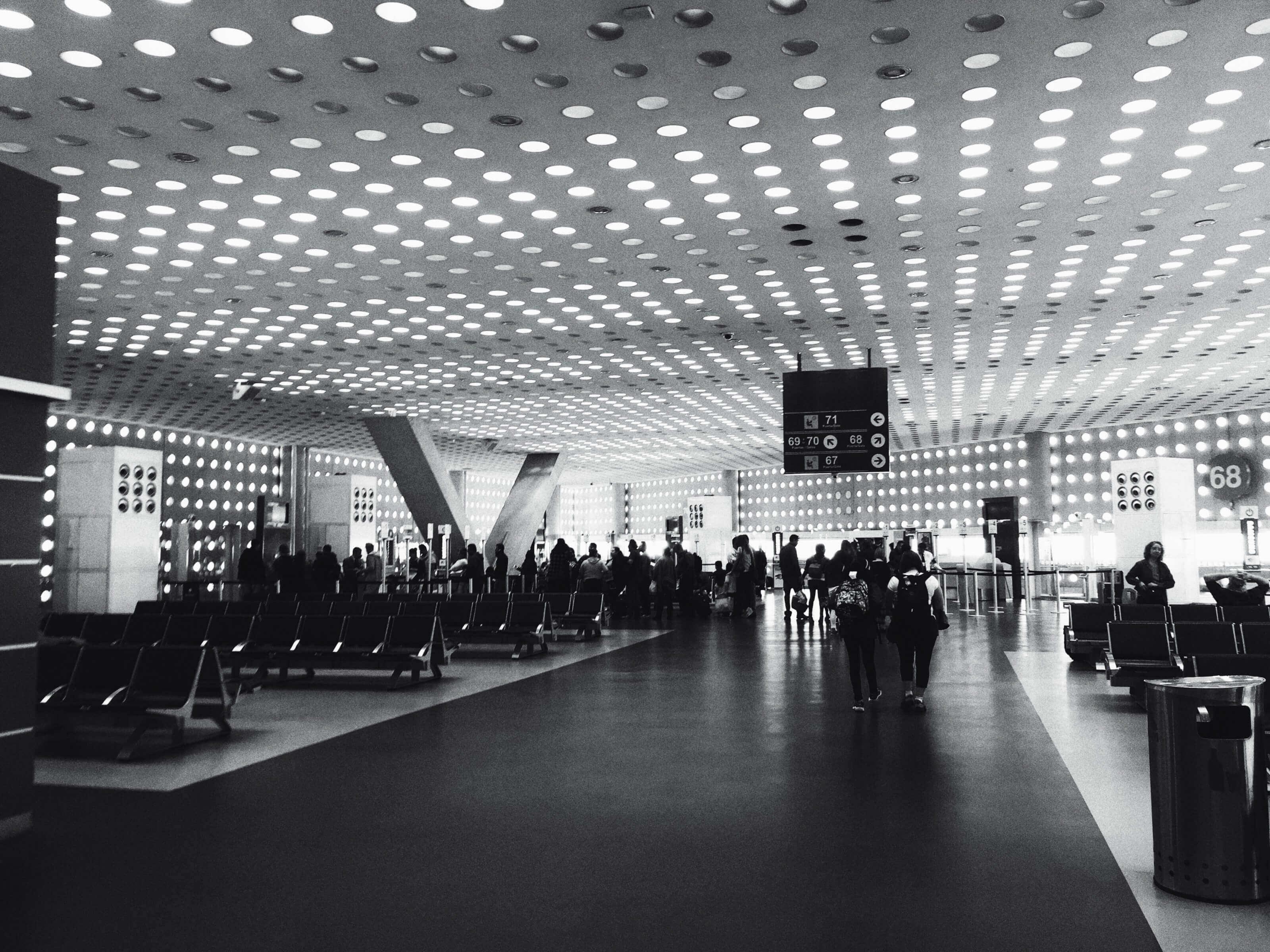 hall aéroport