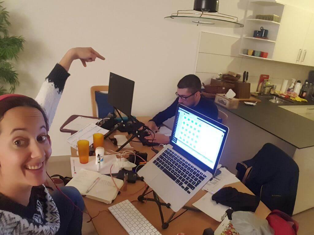 home office digital nomad