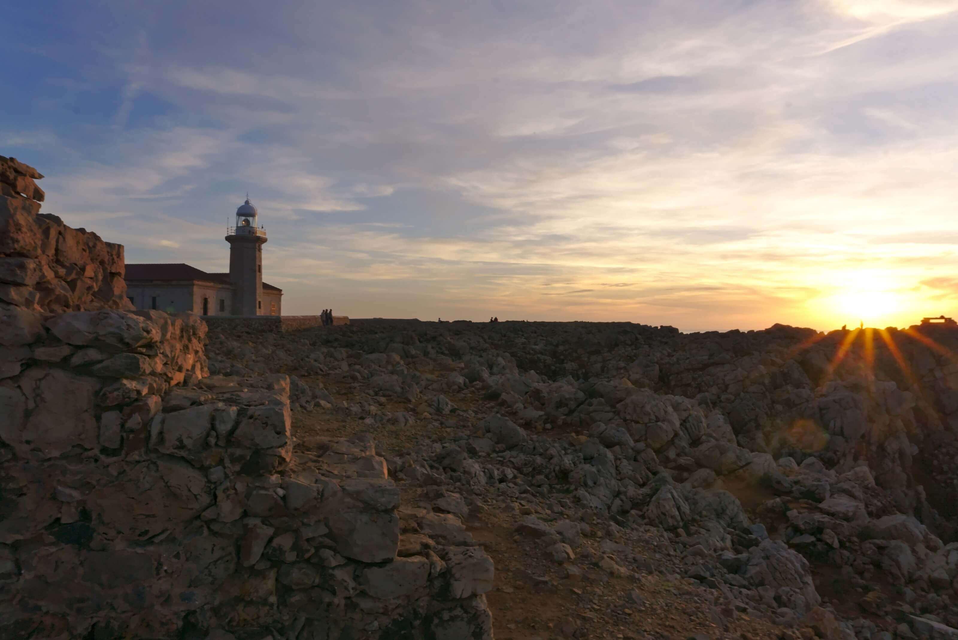 phare de punta nati minorque