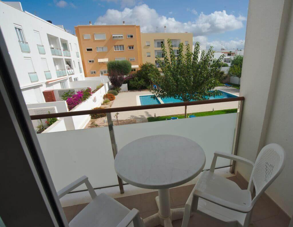 balcon appartement minorque
