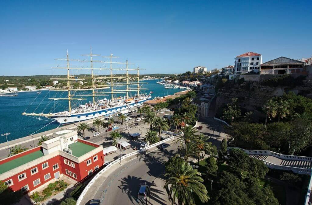 port de Mahon, minorque