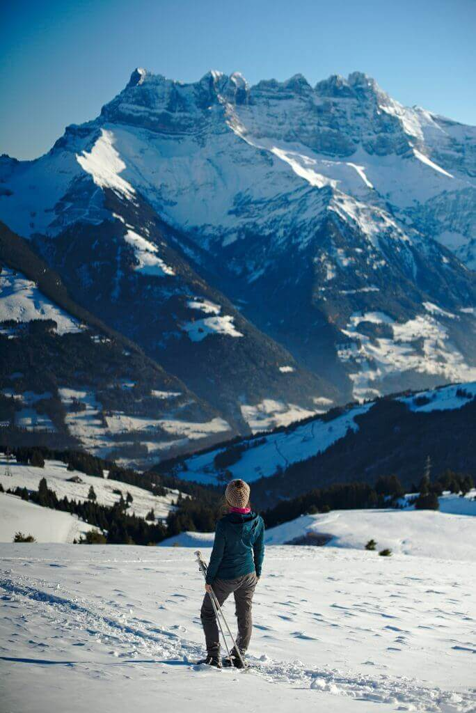 snowshoes in switzerland