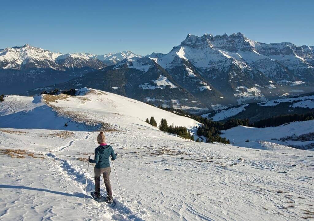 randonnée hiver valais