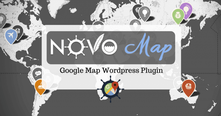 novo-map google map wordpress plugin cover