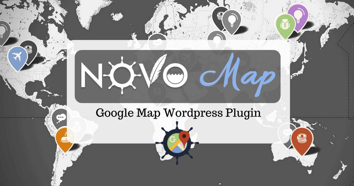 novo-map wordpress plugin