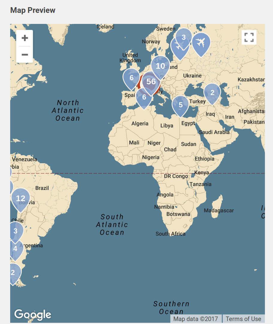 novo-map map preview