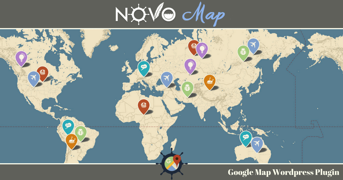 novo-map google map wordpress plugin cover 2