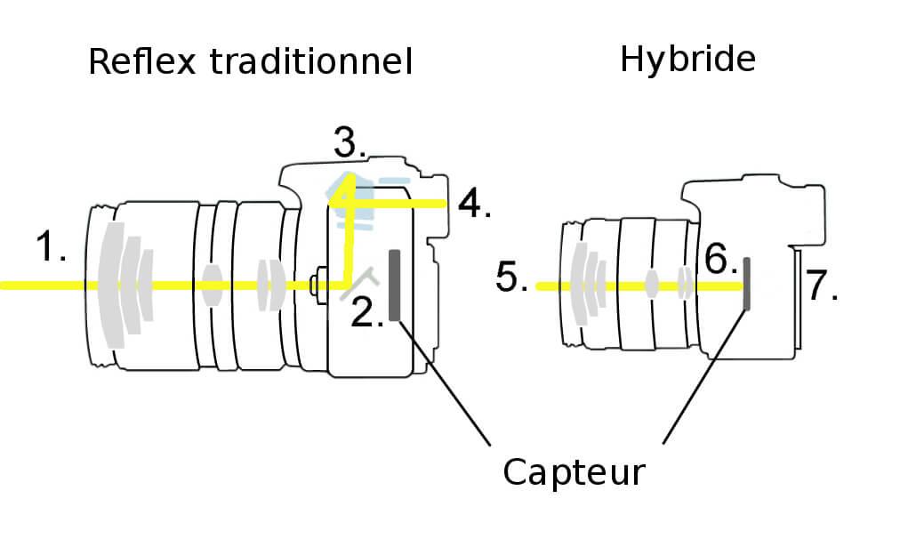 reflex vs hybride