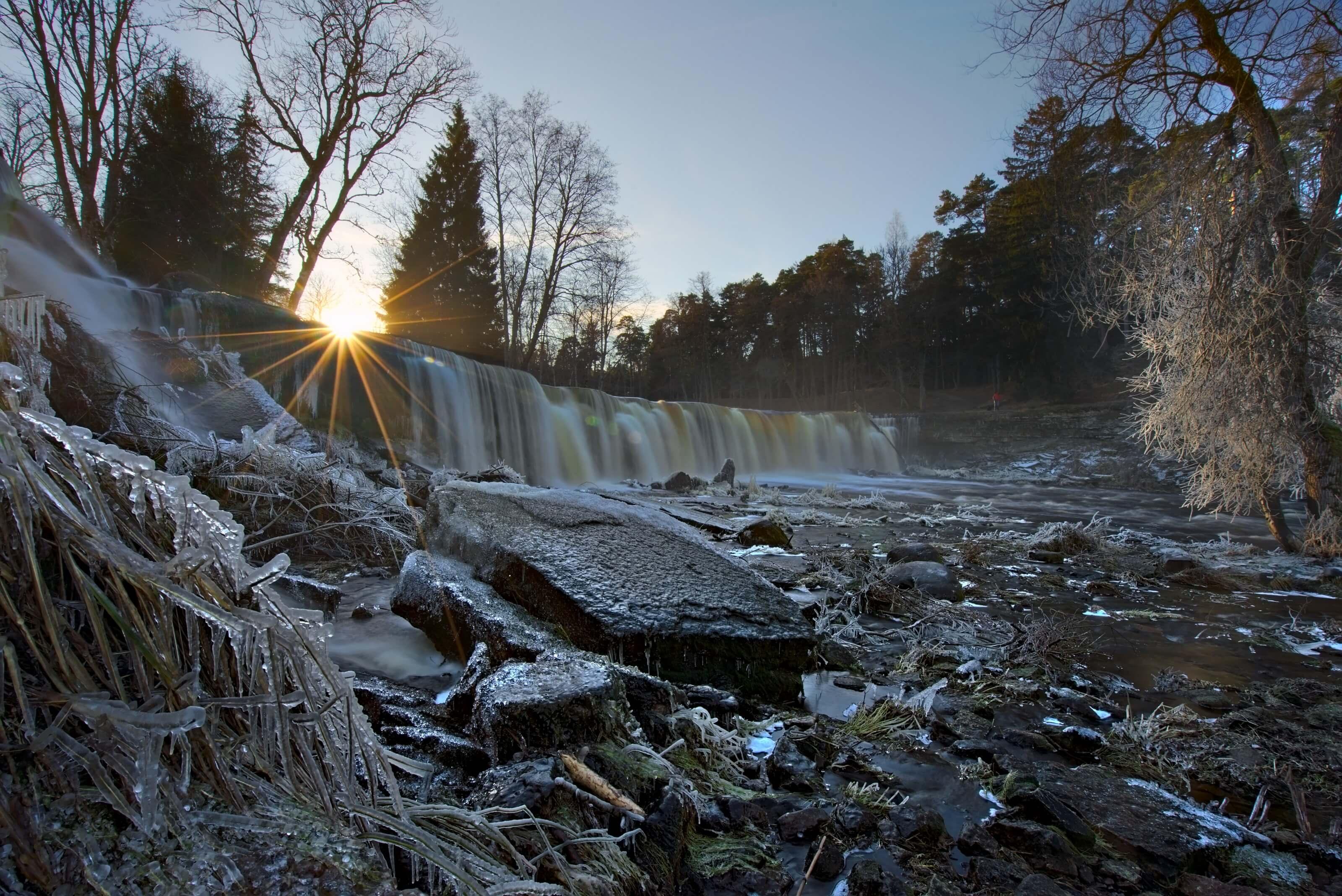 cascade keila joa, estonie