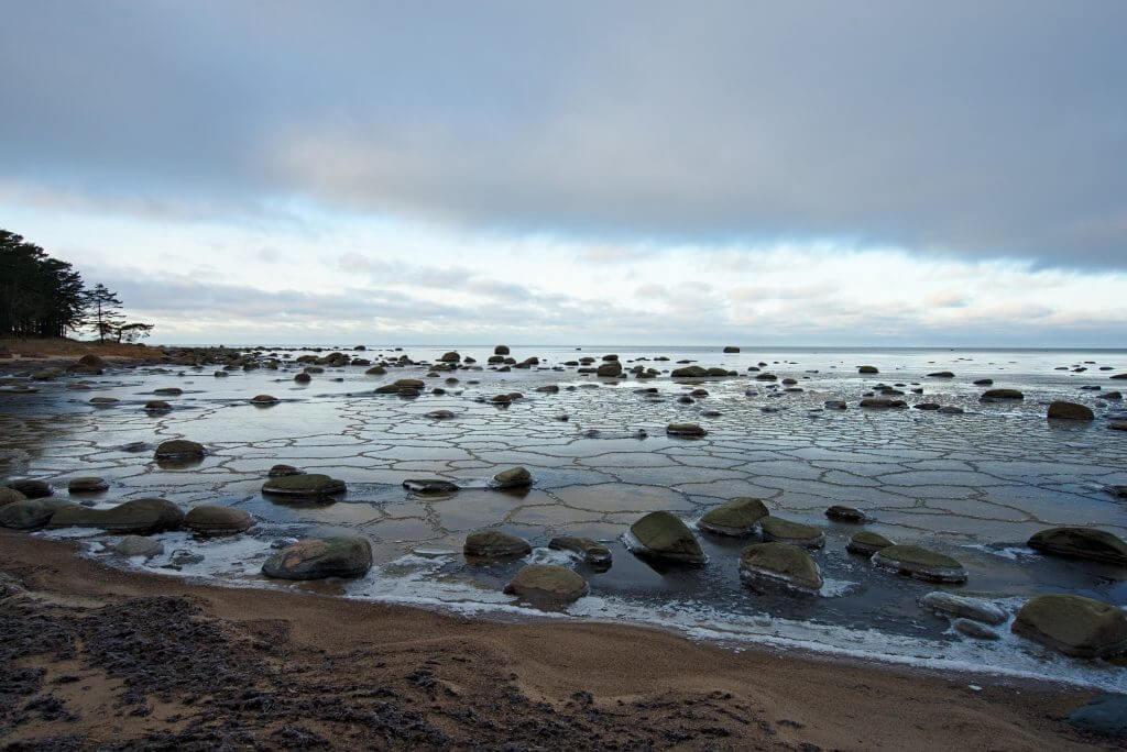 mer baltique gelée
