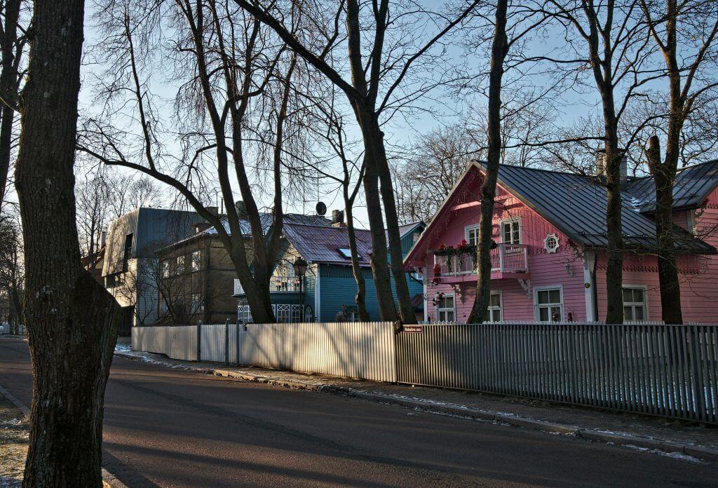 maisons colorées tallinn