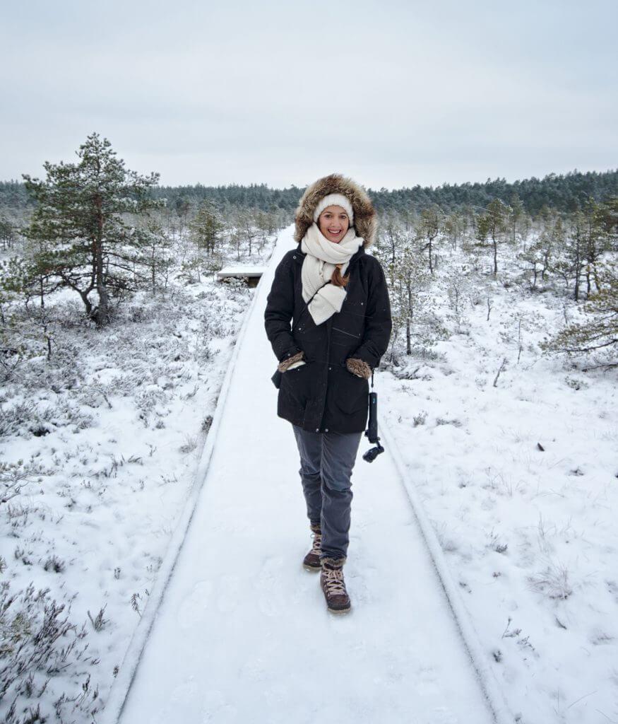 hiver en estonie