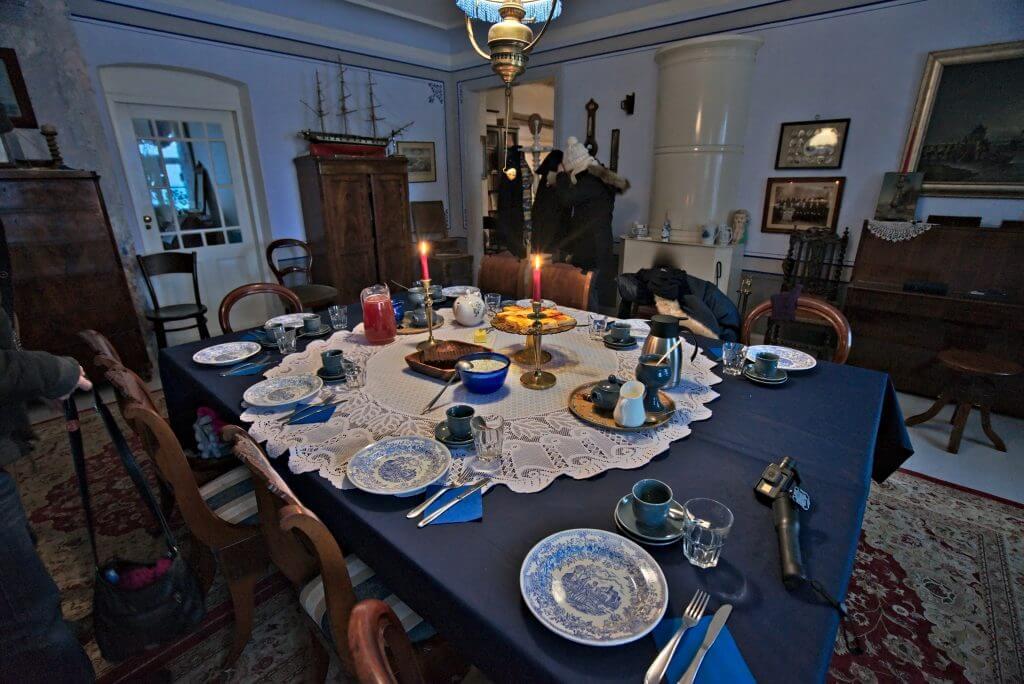 table musée maritime Käsmu