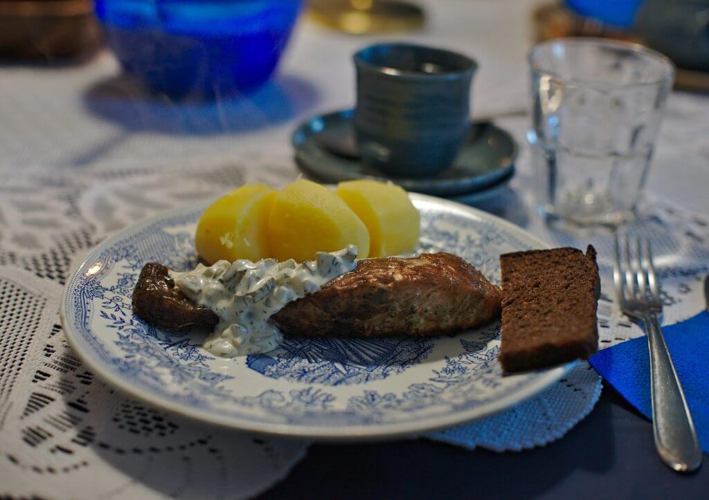 saumon fumé estonie