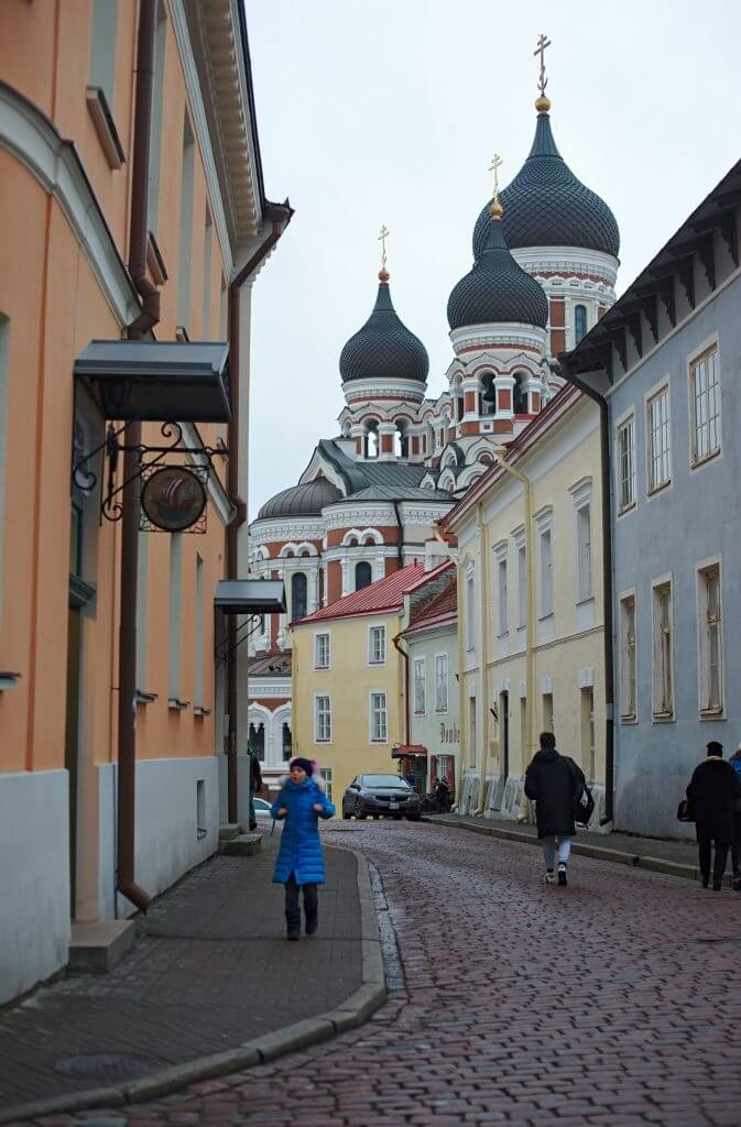 Tallin in the baltic countries