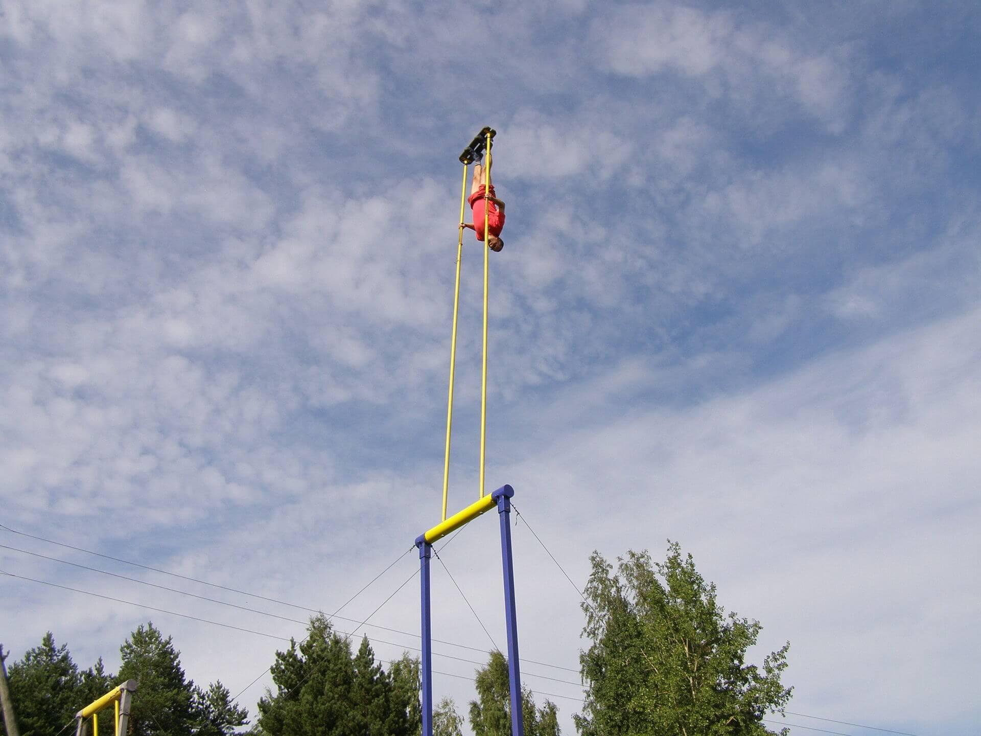 Kiiking balançoire estonienne