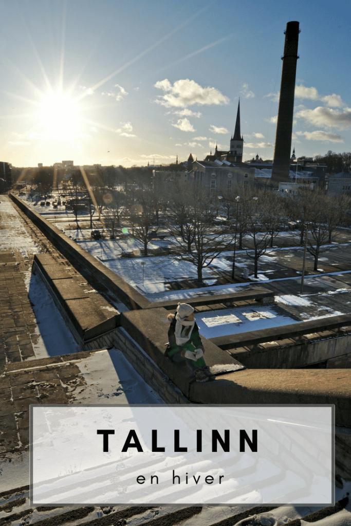Tallinn en hiver