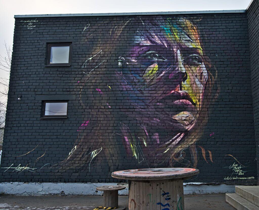 streetart tallinn estonie