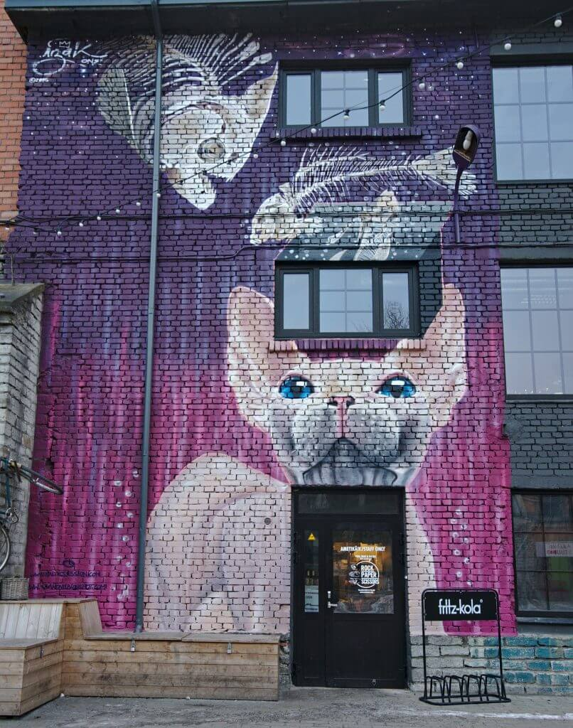 tag chat streetart