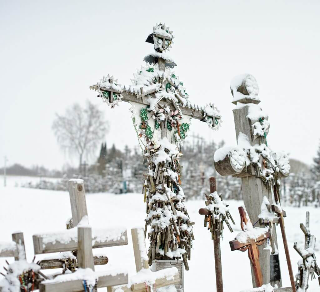 croix originale lituanie