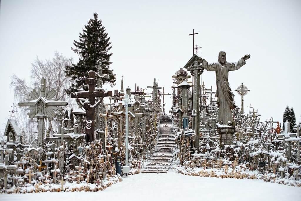colline aux croix, Lituanie