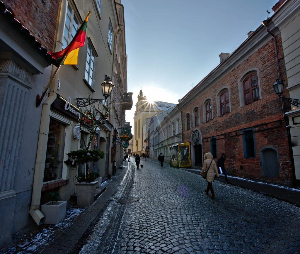 old city of Vilnius