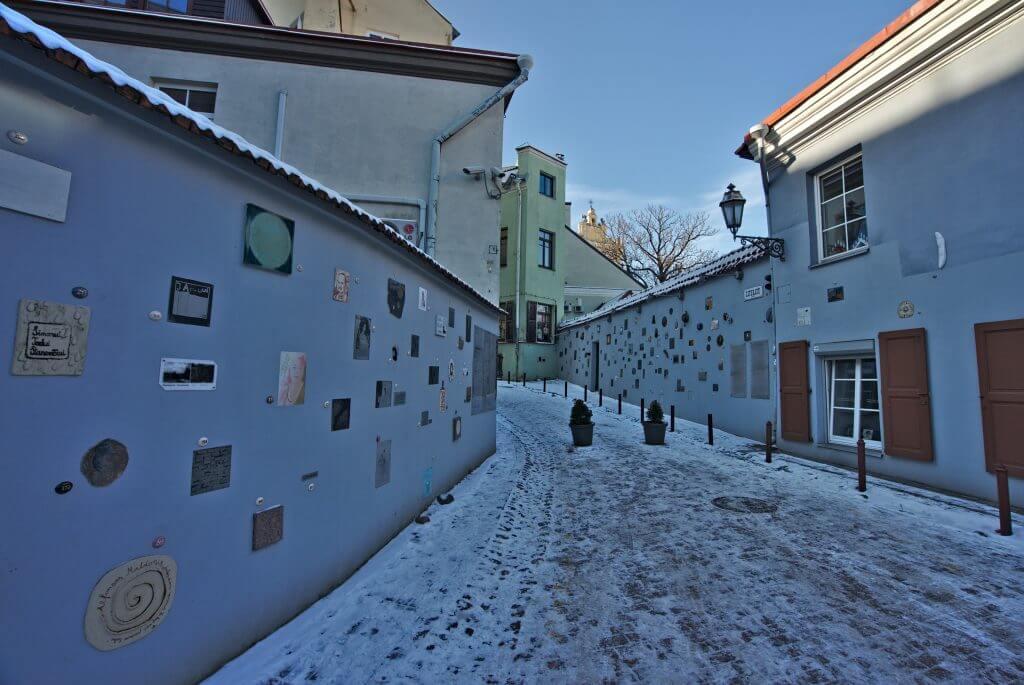 literatu street vilnius
